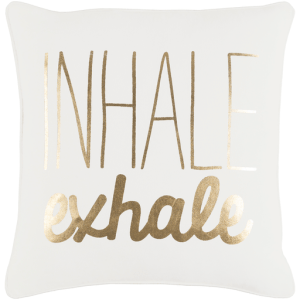Vinyasa Pillow, White