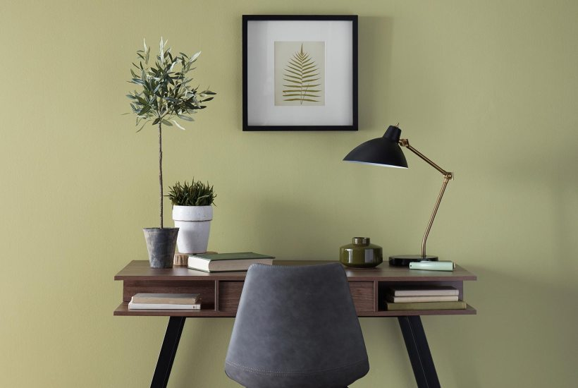 Behr 2020 COY, Back to Nature, Desk, Home Office