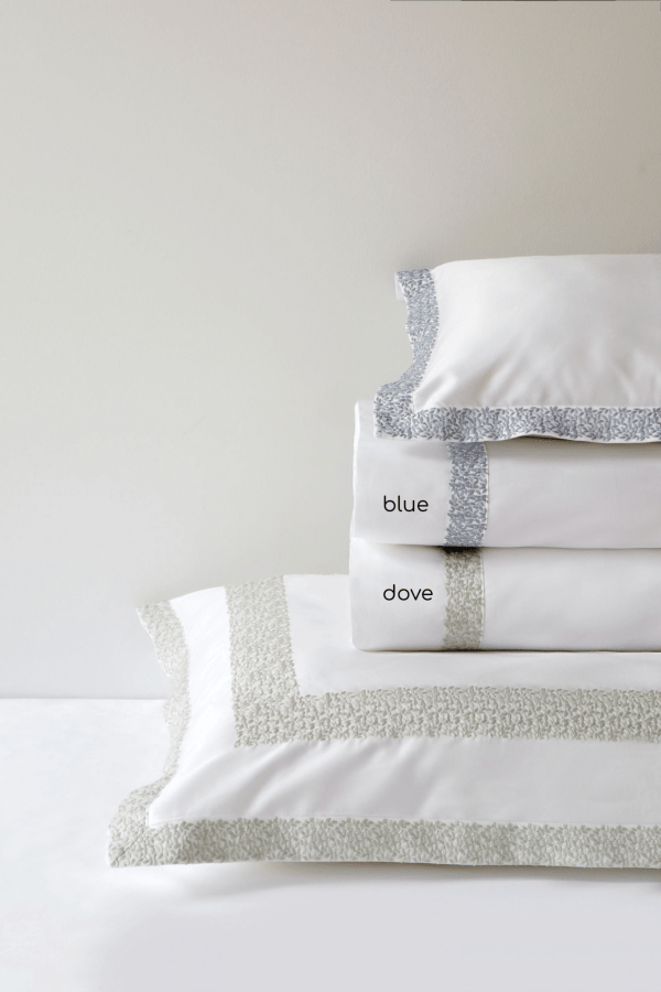 Maire Embroidered Sateen Bedding