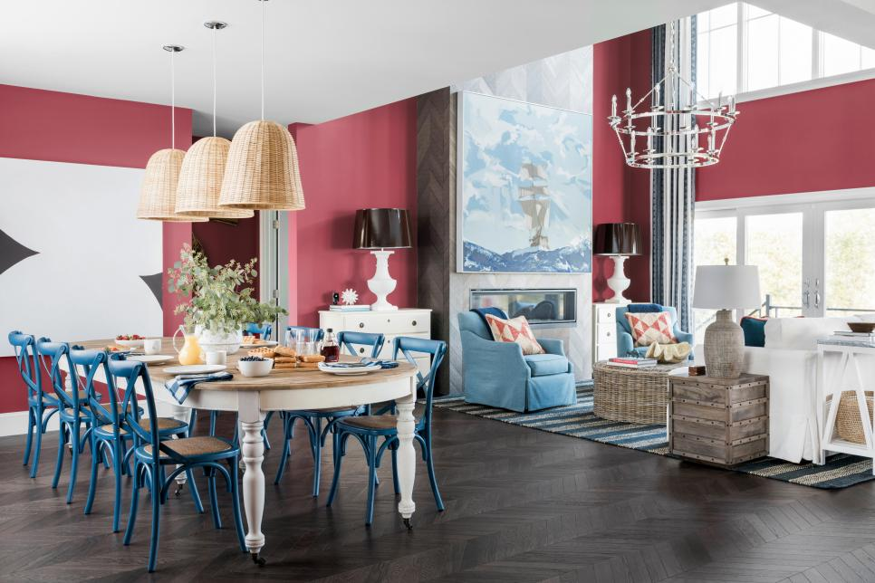 HGTV Dream Home 2021, Living Room, Dining Room, Passionate HGSW 2032