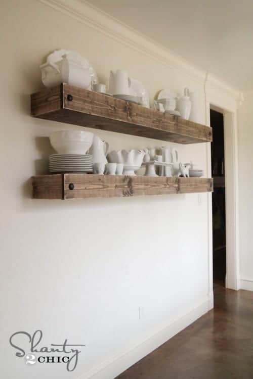 Create Your Own Floating Shelves