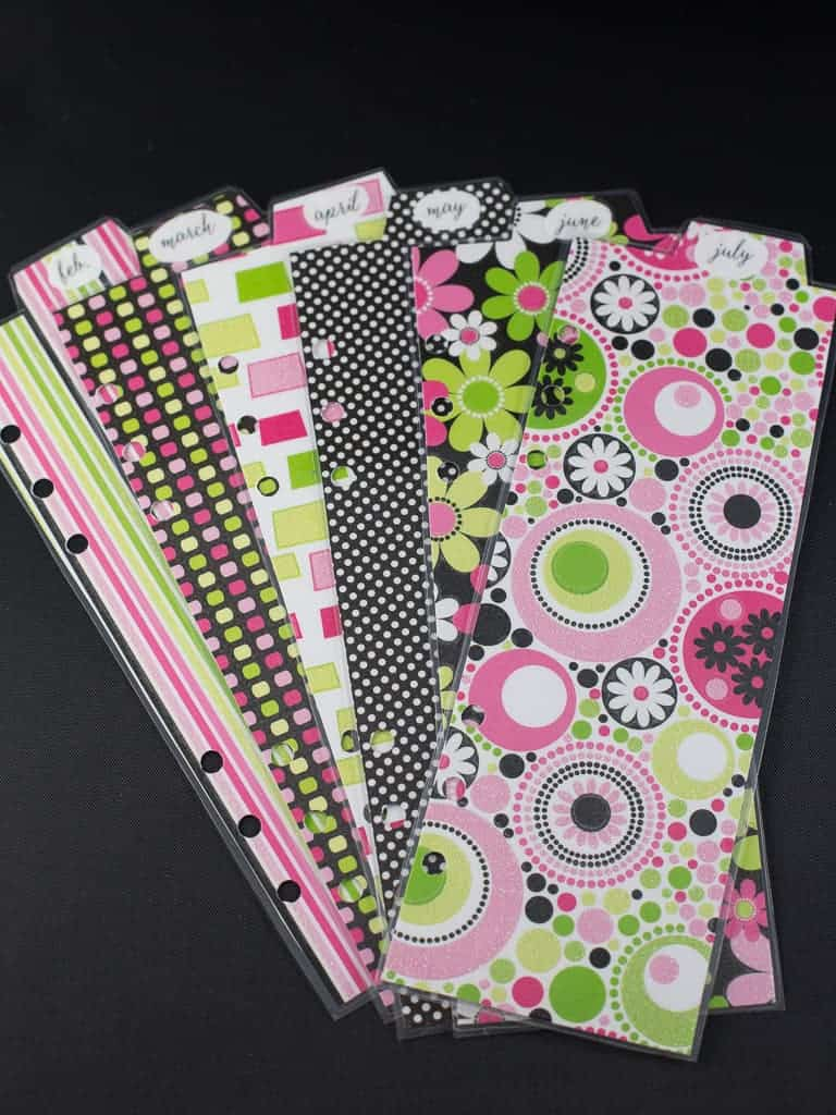 Free Planner Dividers and Tabs   Intentional Hospitality