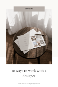 10 ways you can work with a designer