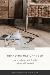Evolution of Branding