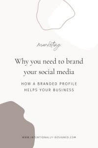 Brand social media