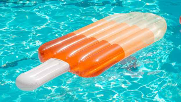 popsicle shaped pool float
