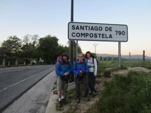 Leaving Roncesvalles