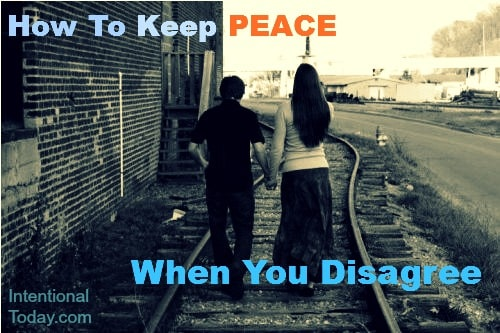 Image: How To Keep peace when you disagree