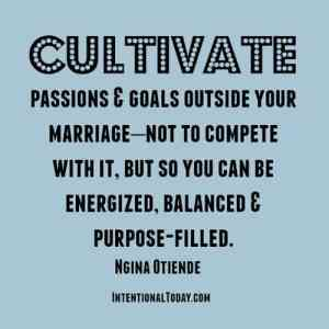 cultivate passions