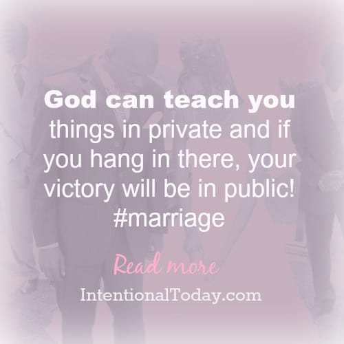 What holds your marriage together? A few thoughts