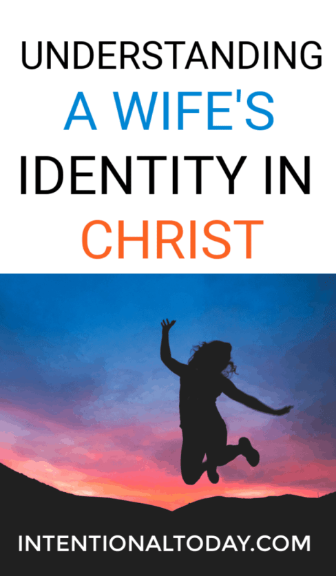 How does understanding your identity in Christ as a wife help you? It stops you striving. Here are ideas to help you rest rest in Christ's accomplishments