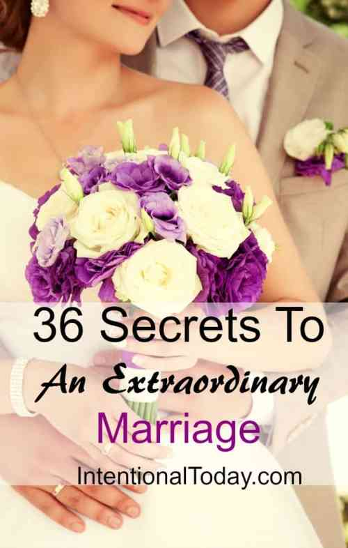 A great marriage is not for a select few! Here are 36 tips to create an uncommon marriage today!