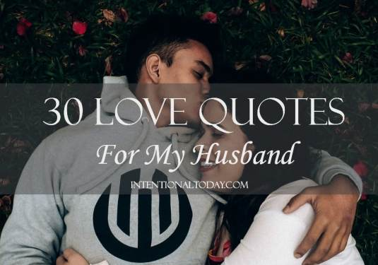 30 love quotes for my husband