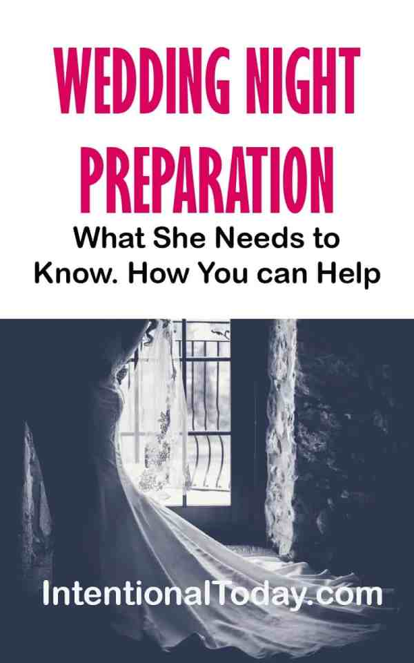 Wedding night preparation - what she needs and how you can help a bride prepare for intimacy