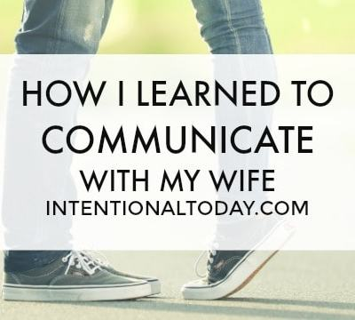 Communication in Marriage: A Husband's Perspective