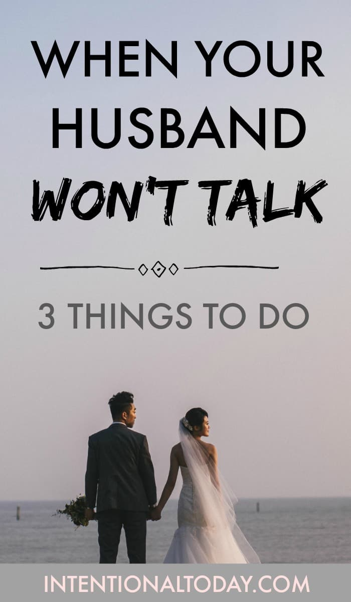My husband wont have sex with me just married