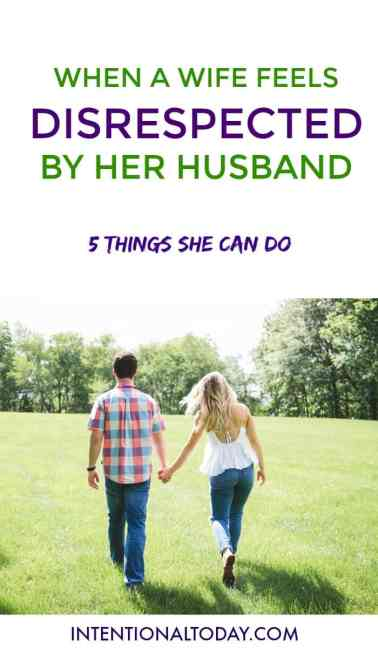 """When a wife feels """"my husband doesn't respect"""" - here are 5 things she needs to do"""