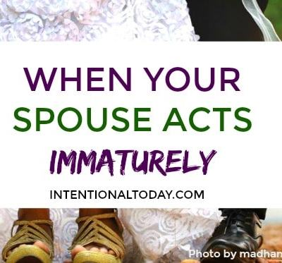 My Husband Behaves Like a Child – What You Must Do