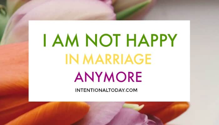 when to leave a marriage