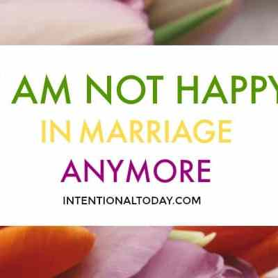 I am not happy in marriage anymore, is it okay to leave my husband?