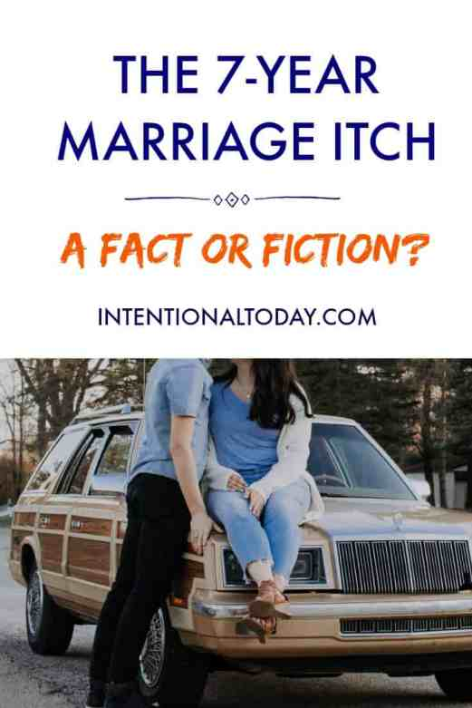 Marriage and the seven-year itch, is it a fact or fiction? Plus ways to avoid the slump!