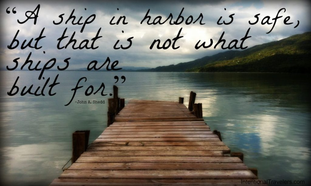 quote ship in harbor