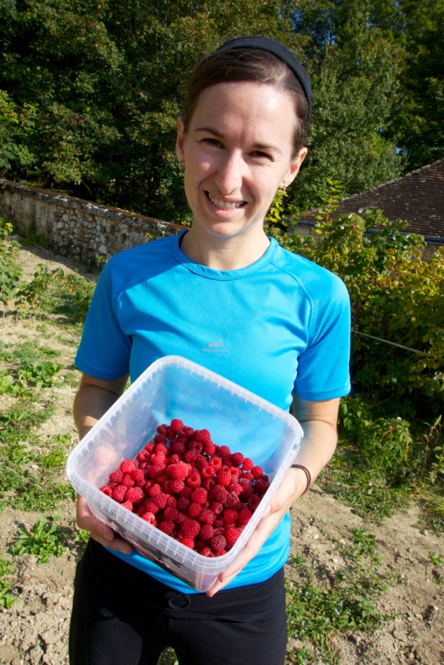 Picking raspberries, Help Exchange, France | Intentional Travelers