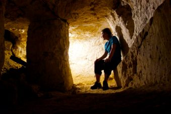 Underground caves, Chateau in Loire Valley France, Help Exchange | Intentional Travelers