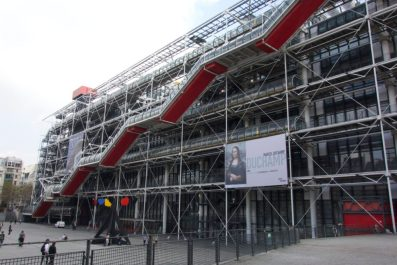 Centre Pompidou Modern Art Museum | A Budget Itinerary for Paris, France | Intentional Travelers