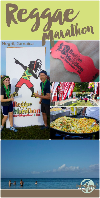 Review of Reggae Marathon (1/2 marathon and 10k) international run event held every December in Negril, Jamaica
