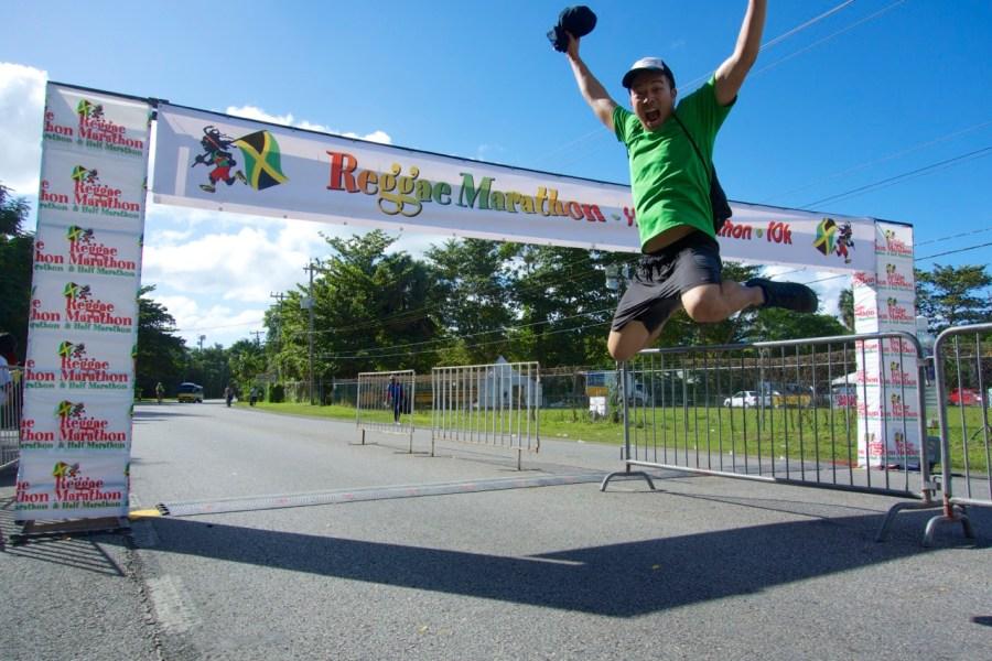 Reggae 10k Finish, Jamaica