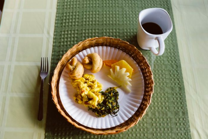 Breakfast at Galina Breeze Hotel, Boutique hotel in St. Mary Jamaica | Intentional Travelers