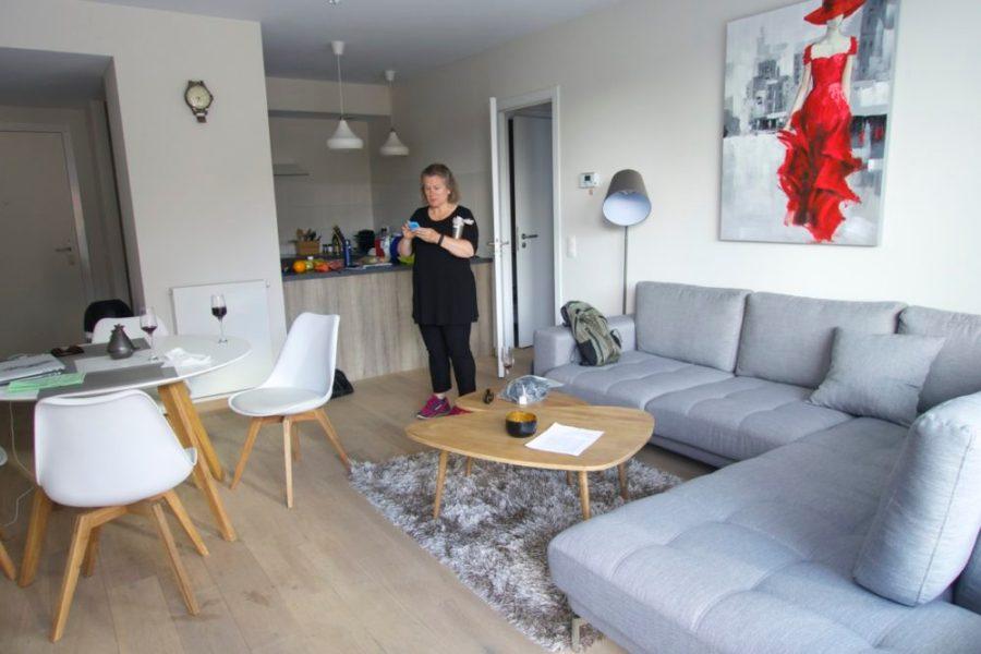Airbnb apartment in Brussels, Belgium