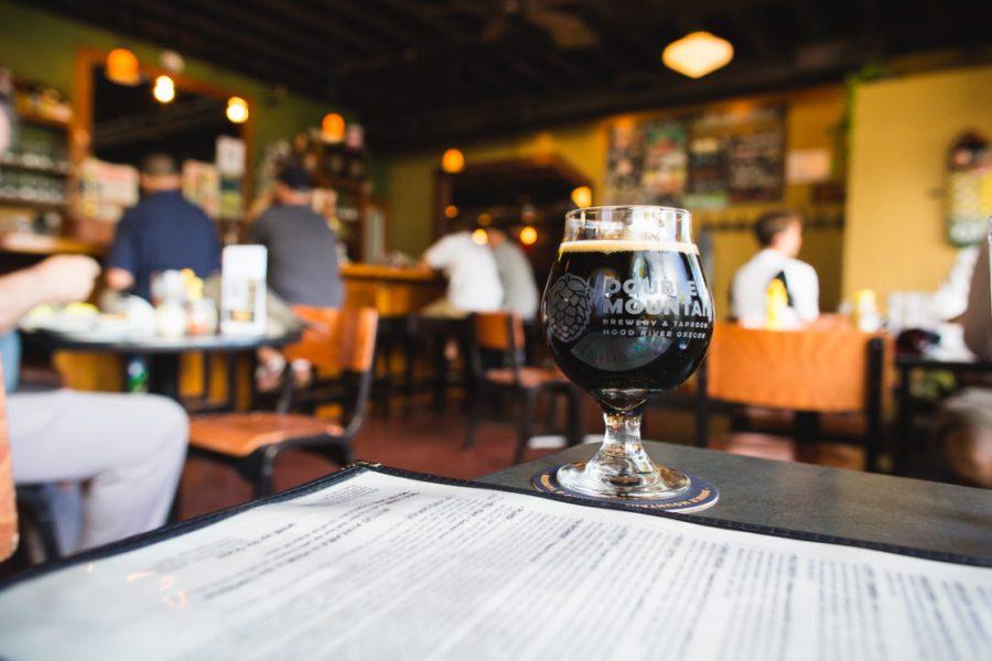 Double Mountain Brewery, Hood River A Photographer's Tour of Portland | Kapono Photoworks via Intentional Travelers