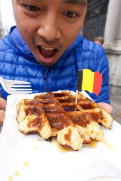 Waffles | Top 5 Things to Do in Bruges, Belgium | Intentional Travelers