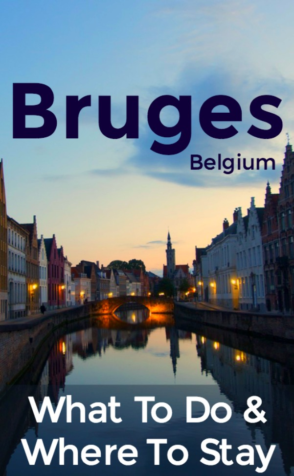 Things to do in Bruges and where to stay - free walking tour, biking, beer tasting, waffles, and more!