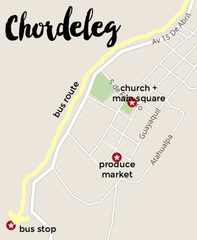 Chordeleg map