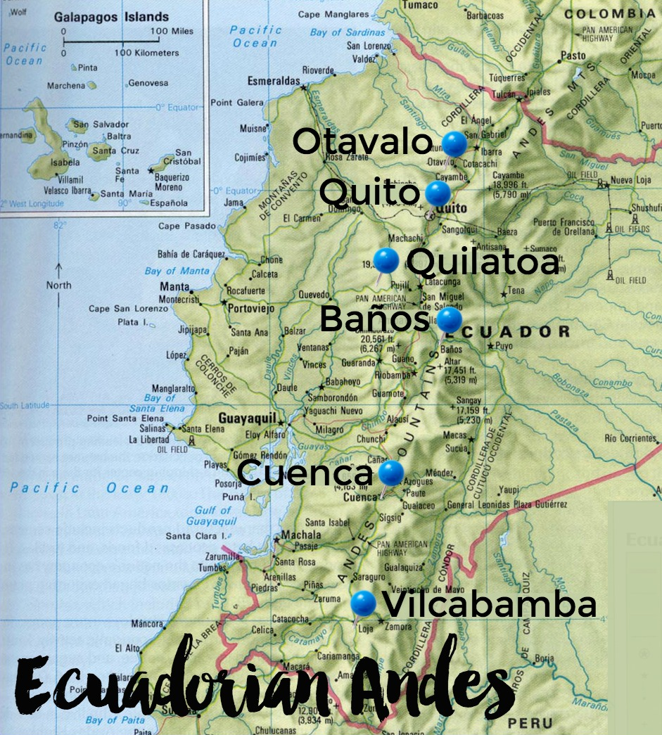6 Beautiful Places to Visit in the Ecuadorian Andes ...