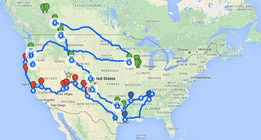 29 aug how to plan a road trip using pinterest and google