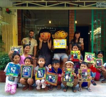 Helped with our CS's workshop at n o w h e r e studio, Phnom Penh