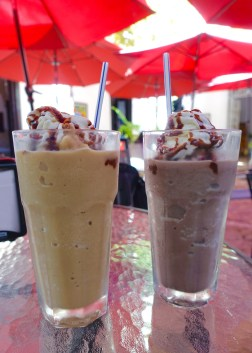 Frappes - chai and oreo