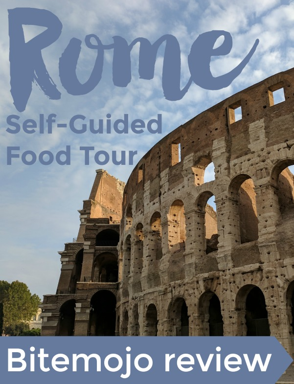 Review of a self-guided food tour in Rome with the Bitemojo smartphone app | Intentional Travelers
