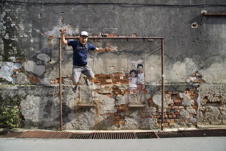 Georgetown Penang street art (with map)