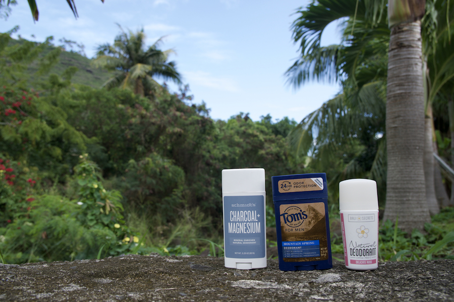 Best natural deodorant for travel - non toxic deodorant reviews for women travelers
