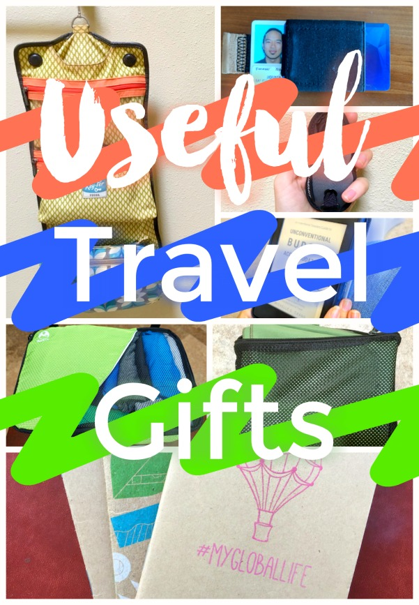 Useful travel gifts and ideas for what to buy people going traveling
