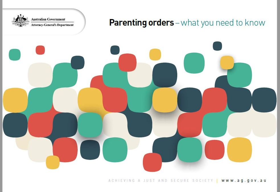 Parenting Orders – What you need to know