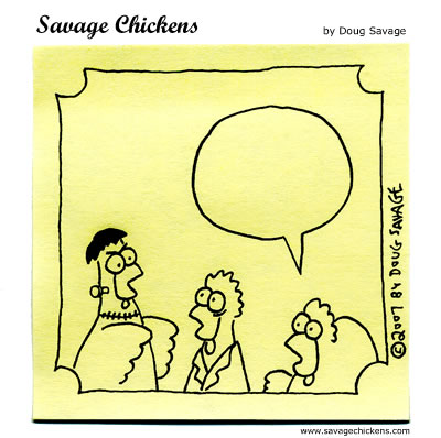 savage chickens