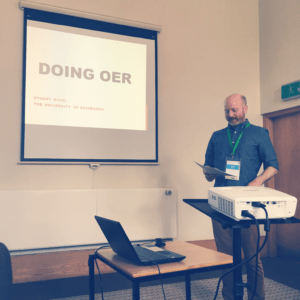 Doing OER: Stuart Nicol