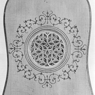 Guitar (Attributed to Matteo Sellas), detail