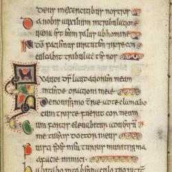 Celtic Psalter, 11th C., f.57v